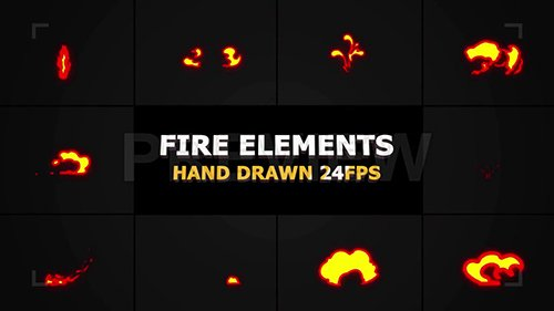 MA - Fire FX Elements Pack 97481