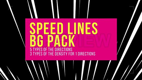 MA - Speed Lines Background Pack 96721