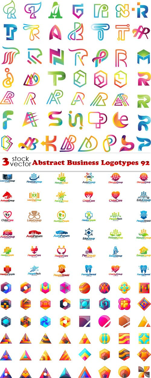 Vectors - Abstract Business Logotypes 92