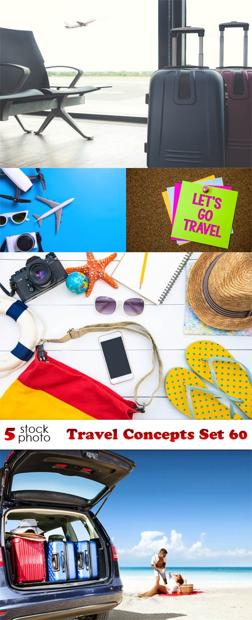 Photos - Travel Concepts Set 60