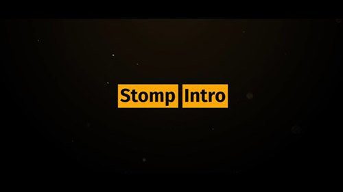 Stomp Intro 21755487 - Project for After Effects (Videohive)