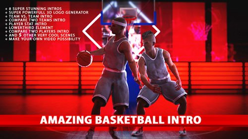 Amazing Basketball Intros - Project for After Effects (Videohive)