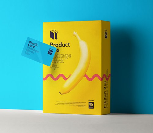 Product Box Package Mockup 5