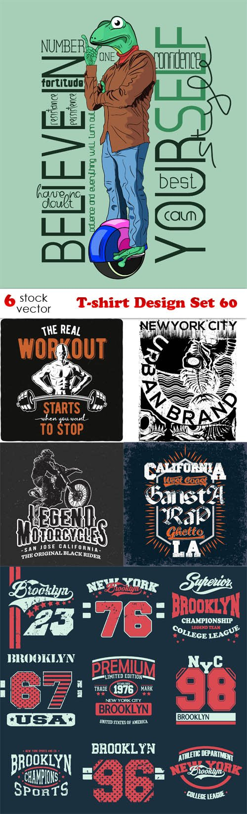Vectors - T-shirt Design Set 60
