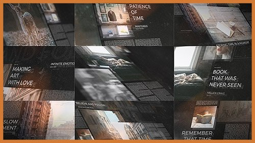 Inspiring Story - Project for After Effects (Videohive)