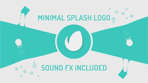 Minimal Splash Logo - Project for After Effects (Videohive)