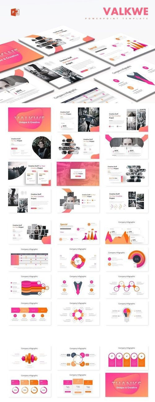 Valkwe Creative -Powerpoint Template 2886583