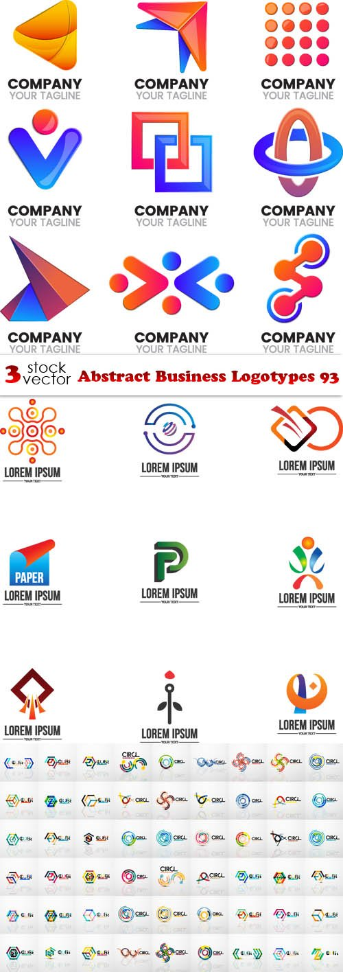 Vectors - Abstract Business Logotypes 93