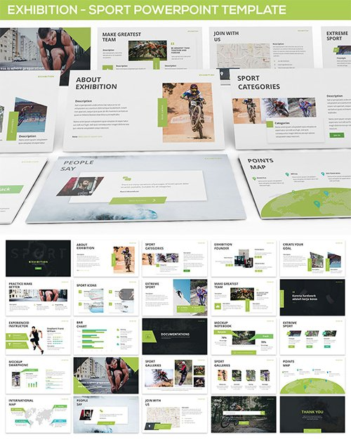 Exhibition - Sport Powerpoint Template