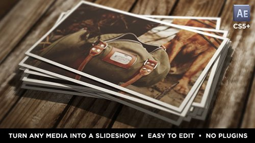 Instant Photo Stack - Project for After Effects (Videohive)