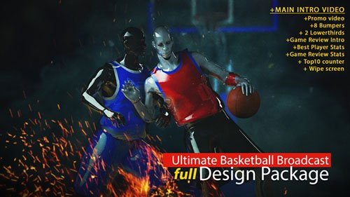 Ultimate Basketball Intro - Project for After Effects (Videohive)