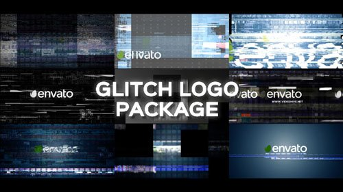 Glitch Logo Pack 19643456 - Project for After Effects (Videohive)