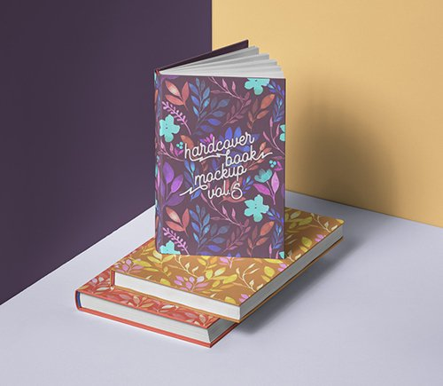 Book Mockup Hardcover Vol 5