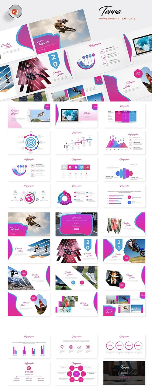 Terra Powerpoint, Keynote and Google Sliders Template