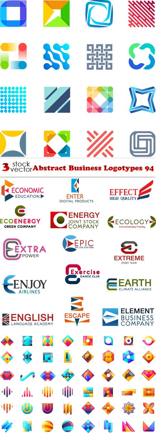 Vectors - Abstract Business Logotypes 94