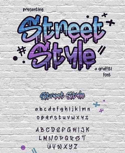 Street Style Font Scrip