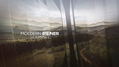 Modern Opener - Slideshow II  - Project for After Effects (Videohive)