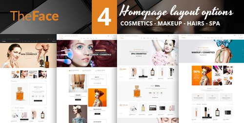 ThemeForest - Theface v1.0 - PrestaShop Theme for Beauty Cosmetics Store - 22523010
