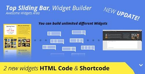 CodeCanyon - Top Sliding Bar v1.2.7 - 9027813