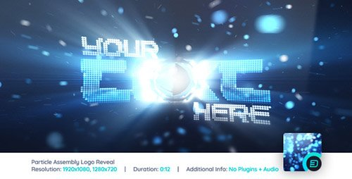 Particle Assembly Logo Reveal - Project for After Effects (Videohive)