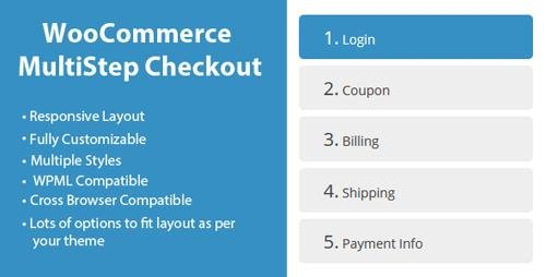 CodeCanyon - WooCommerce MultiStep Checkout Wizard v3.4.1 - 8125187
