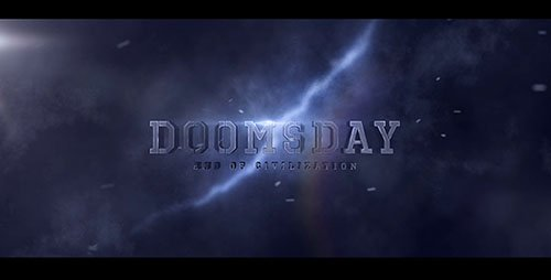 Doomsday Title design - Project for After Effects (Videohive)