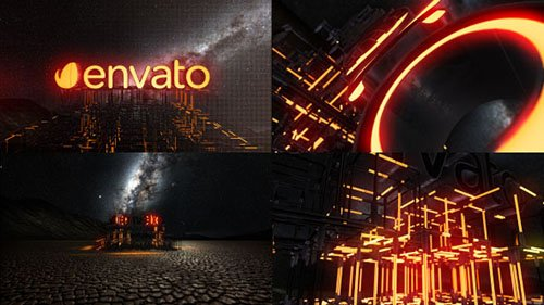 Lightbuild Element 3D Logo Reveal - Project for After Effects (Videohive)