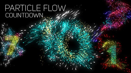 Particle Flow Countdown - Project for After Effects (Videohive)