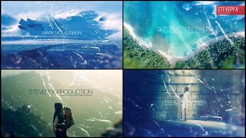 Glitch Action Trailer 20709820 - Project for After Effects (Videohive)