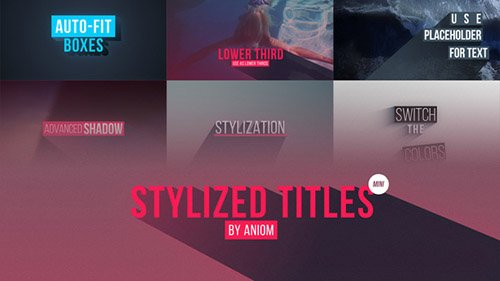Stylized Titles - Project for After Effects (Videohive)