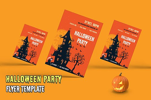 Halloween Party - Flyer 2