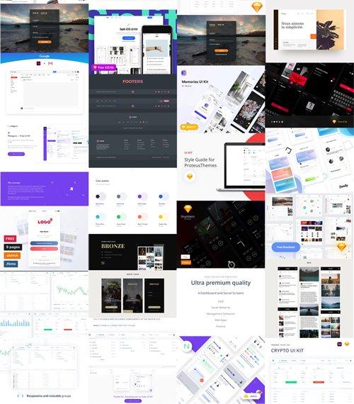 50+ Best UI Design Kits of 2017-2018 - Heroturko