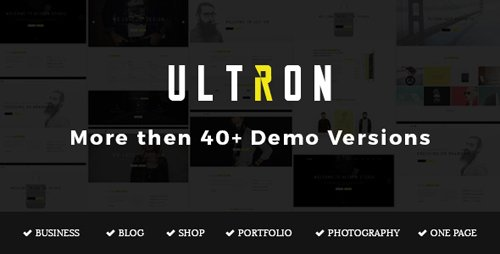 ThemeForest - Ultron v1.2 - Responsive Multipurpose Joomla Template - 16360977