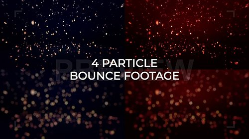 MA - Blue-Red Particles Background Pack 107616