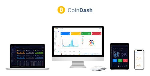 ThemeForest - Cryptocurrency Dashboard Admin Template - Coindash v1.1 - 22352315