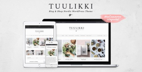 ThemeForest - TUULIKKI v4.0.3 - Nordic Blog & Shop WordPress Theme - 19257735