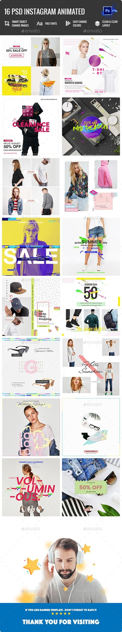Fashion Instagram Animated Posts 22540854