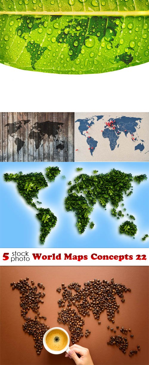 Photos - World Maps Concepts 22