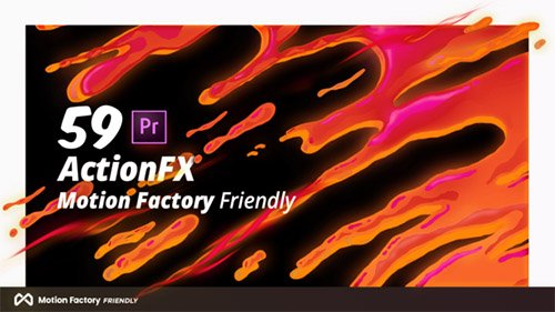 ActionFX | Fire Smoke Water Effects for Premiere Pro Templates (Videohive)