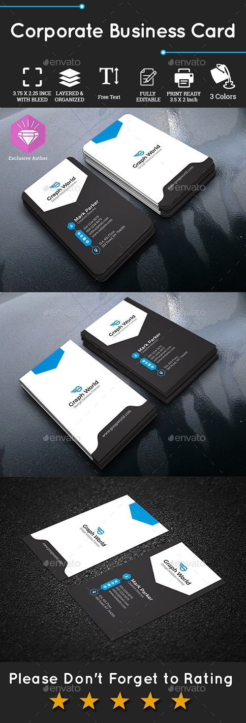 Corporate Business Card 22557124