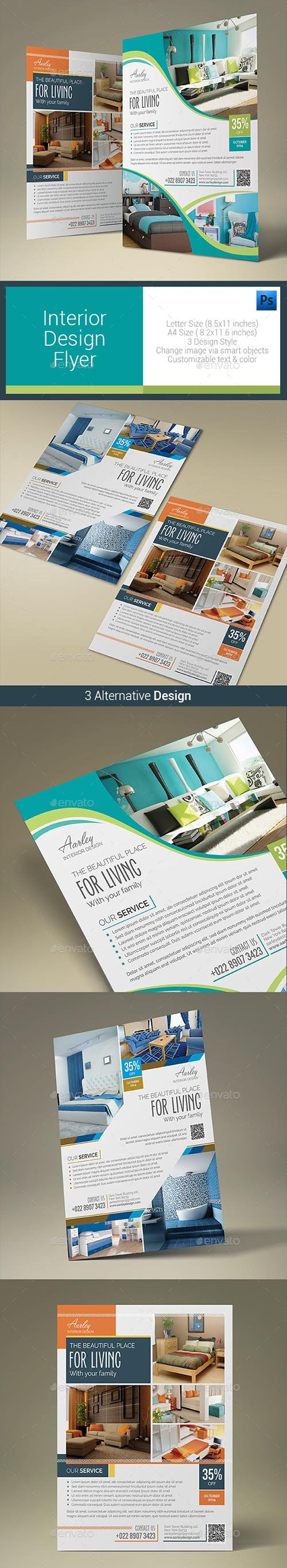 Interior Design Flyer 10485606