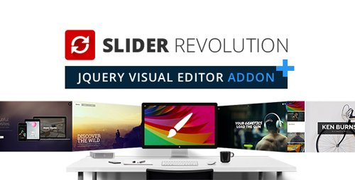 CodeCanyon - Slider Revolution jQuery Visual Editor Addon v5.4.8.1 - 13934907