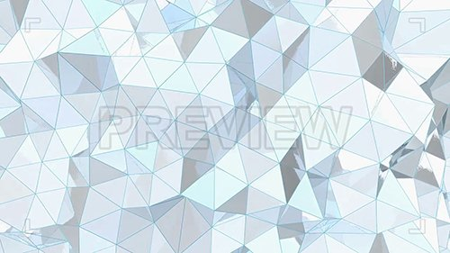 MA - White Metal Low-Poly Background 107523