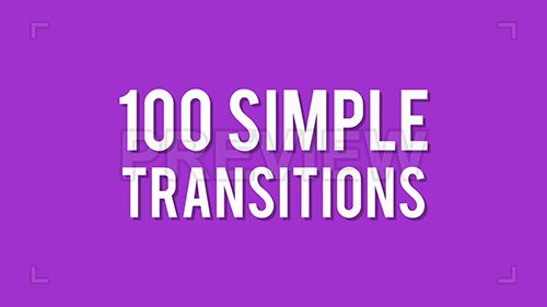 MA - 100 Simple Transitions 105866