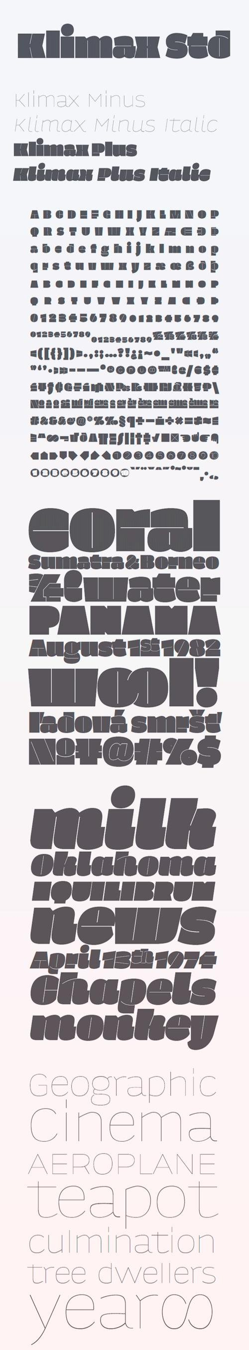 Klimax Font Family