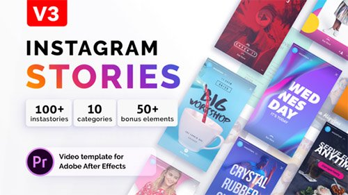 Instagram Stories | For Premiere Pro Templates (Videohive)