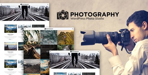 ThemeForest - MT Photography v1.0 - Eye-catching, Unique Photography WordPress Theme - 19642951