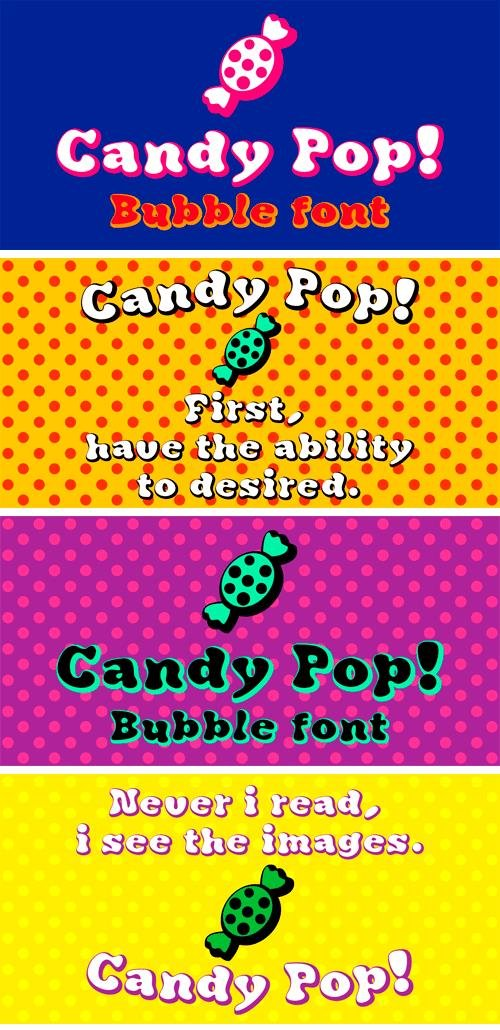 Candy Pop Font Family