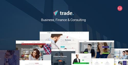 ThemeForest - Trade v1.2 - Business and Finance WordPress Theme - 19498822