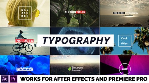 Typography 22401668 - Project for After Effects & Premiere Pro Templates (Videohive)